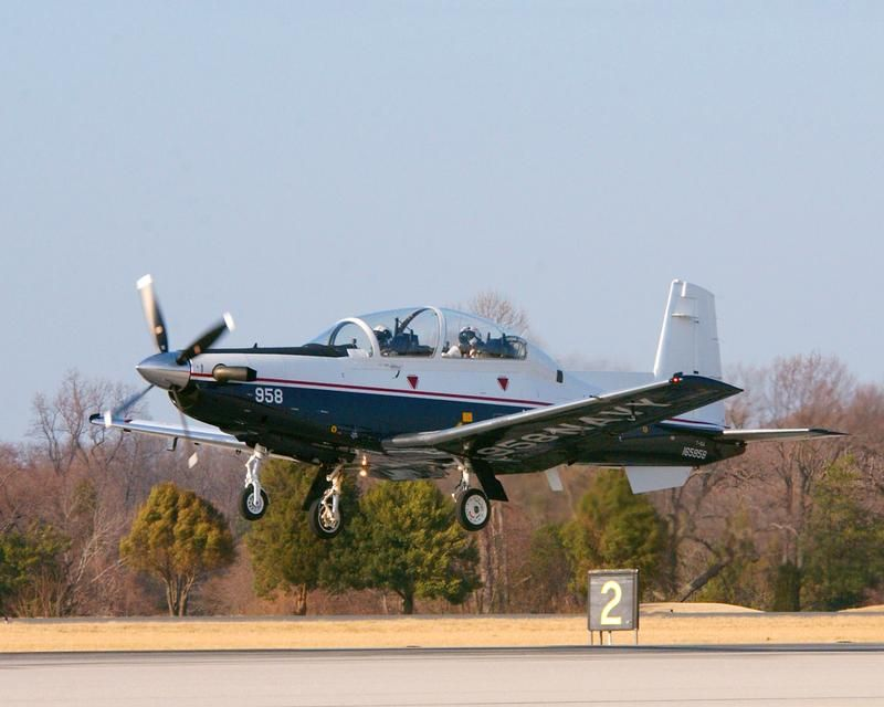 U.S. Navy T-6 Texan II