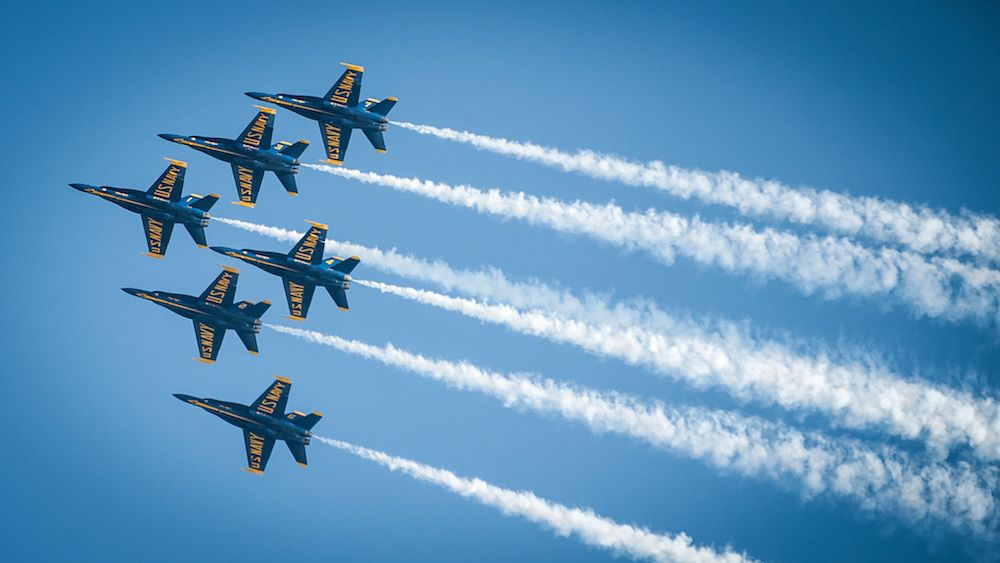 U.S. Navy Blue Angles